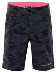 ALPINE PRO Trento 2 otroške softshell hlače, 92 - 98, sive