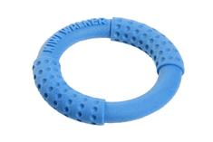 KIWI WALKER Házecí a plovací kruh z TPR pěny modrá, 18 cm