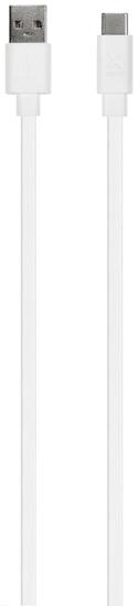 Xtorm Flat USB to USB-C Cable (1 m) CF050, bel