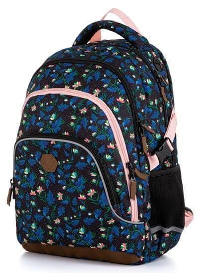 Karton P+P Školní batoh OXY SCOOLER Magnolia dark