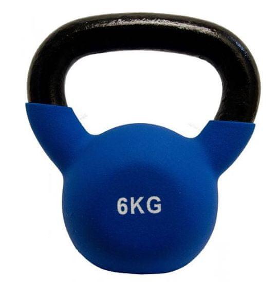 Fitmotiv Kettlebell utež, neopren, 6 kg