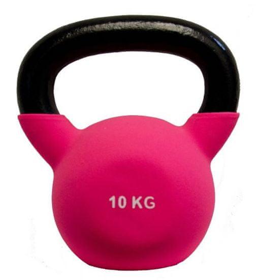 Fitmotiv Kettlebell utež, neopren, 10 kg