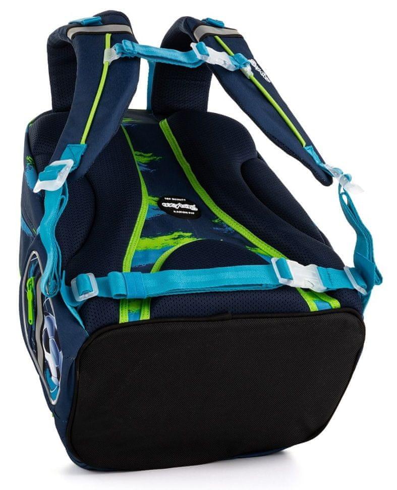 Karton P+P Školní batoh OXY Style Mini football blue