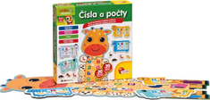 Lisciani Baby puzzle Čísla a počty