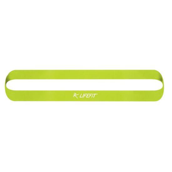 LIFEFIT Lifefit Kruh Soft elastika za vadbo, svetlo zelena