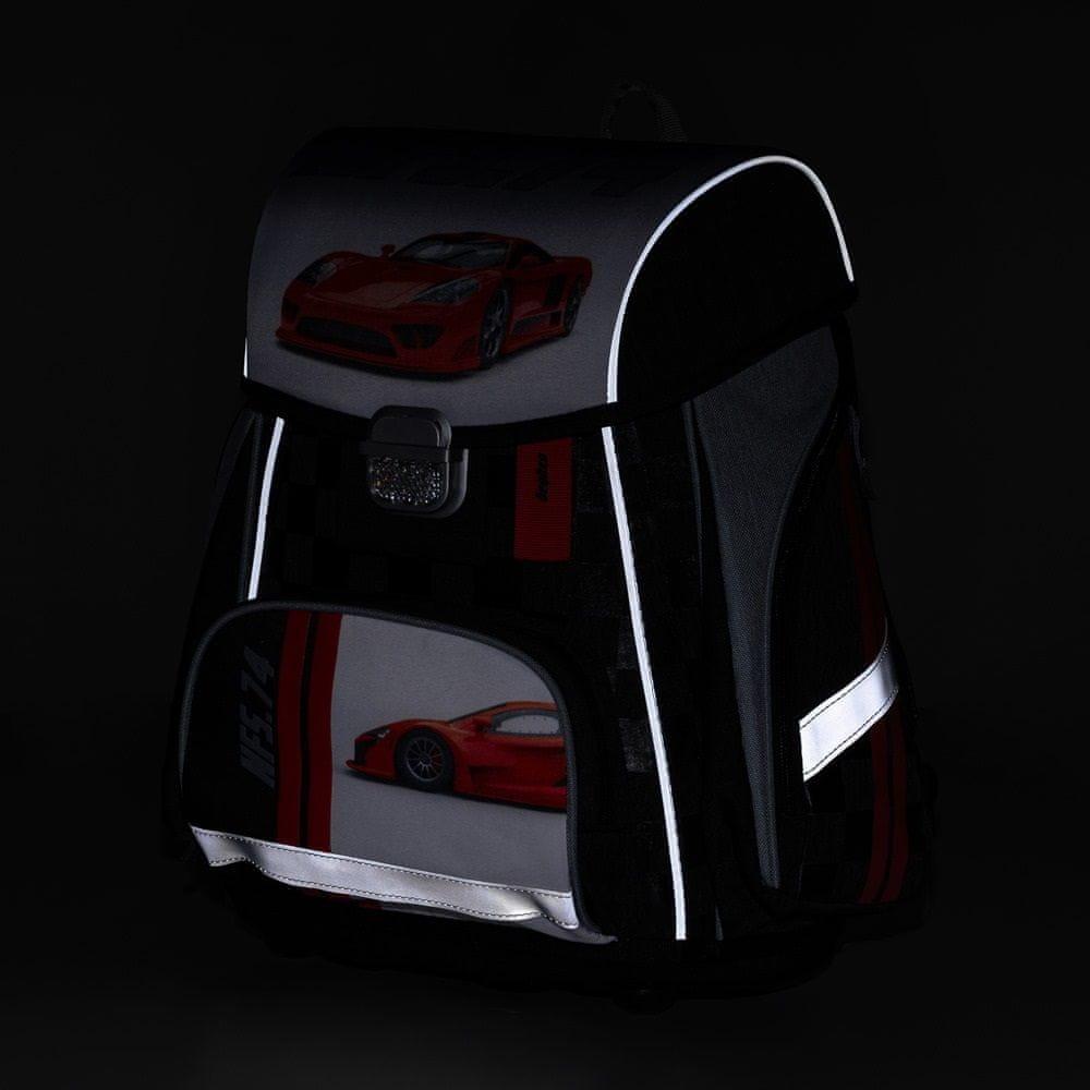 Karton P+P Anatomický batoh PREMIUM Auto