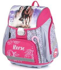 Karton P+P Premium Konj anatomska šolska torba