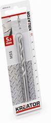 Kreator KRT010113 - HSS vrták do kovu 5,5x93 mm