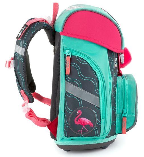 Karton P+P Premium Flamingo anatomska šolska torba