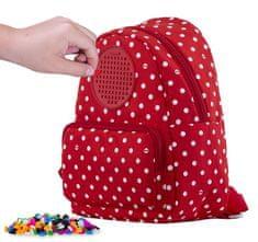 Pixie Crew Teenage batôžtek červený s bielymi bodkami