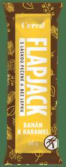 Cereabar Flapjack banán & karamel bez lepku 60g, 15ks (1 karton)