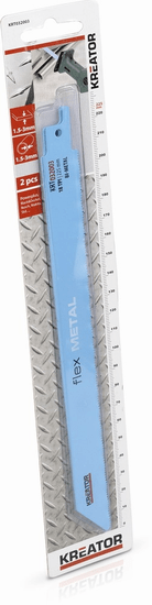 Kreator KRT032003 - 2 ks Pílový plátok pre ocasovů pílu na kov 225-18
