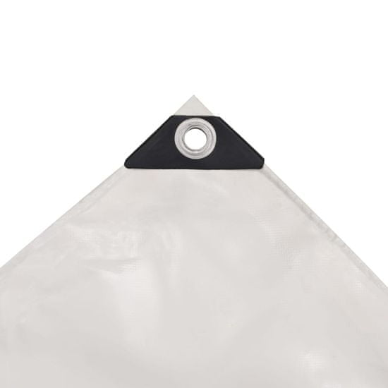 shumee fehér ponyva 650 g/m² 3,5 x 5 m