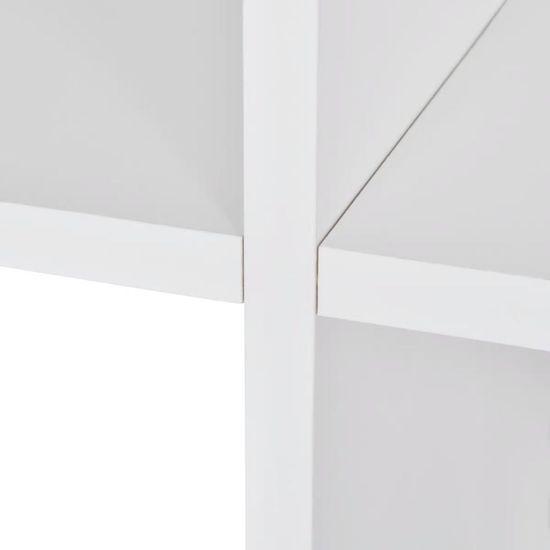 shumee Regał schodkowy, 107 cm, biały