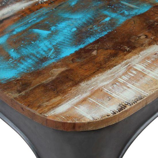shumee Jedilni stoli 4 kosi iz trdnega predelanega lesa