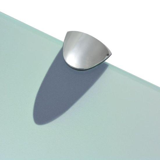 shumee lebegő polc üveg 30x10 cm 8 mm
