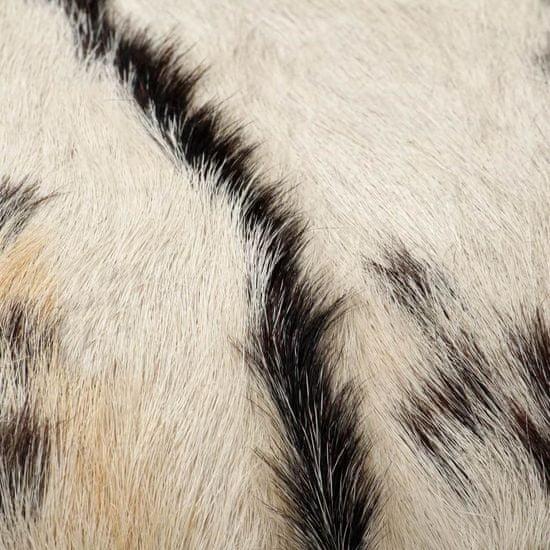 shumee Klop iz pravega kozjega usnja 160x28x50 cm