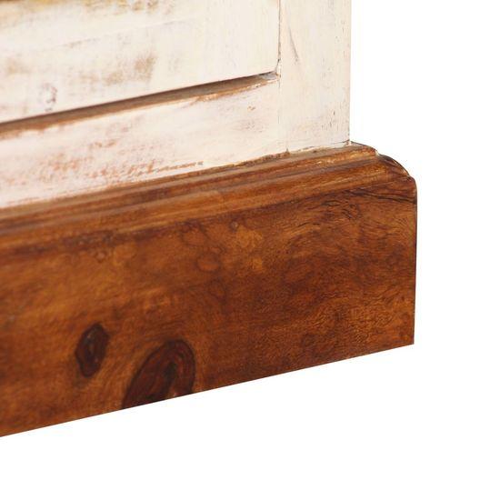 shumee TV omarica iz trdnega palisandra in mangovega lesa 120x30x40 cm
