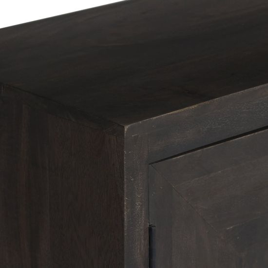 shumee Omara za les iz masivnega manga 160x40x81 cm
