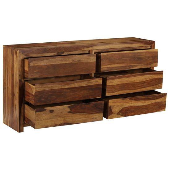 shumee omarica iz masivnega lesa Sheesham 160x40x80 cm