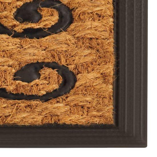 shumee kókuszrost/gumi lábtörlő 45 x 75 cm
