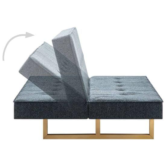 shumee Kavč z ležiščem blago temno sive barve