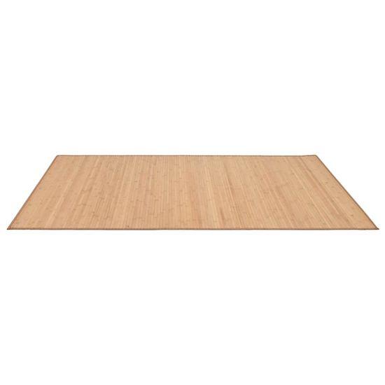 Petromila Koberec hnedý 120x180 cm bambusový