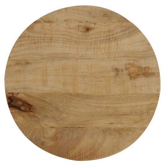 shumee Odstavna mizica iz trdnega mangovega lesa 40x50 cm