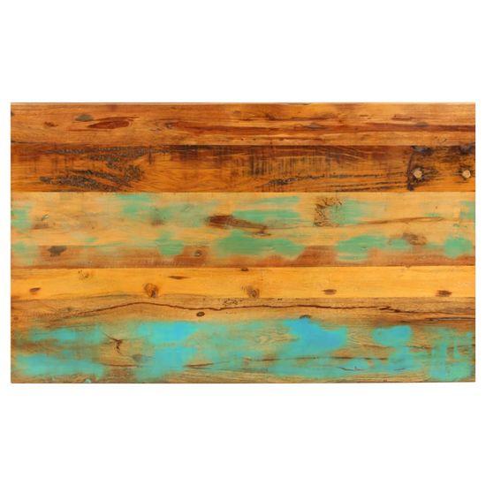 Greatstore Klubska mizica 100x60x35 cm trden predelan les