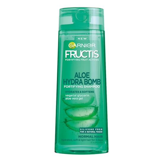 Garnier Fructis Aloe Hydra Bomb šampon, 400 ml