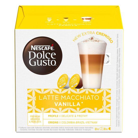 NESCAFÉ Dolce Gusto® kávové kapsule Latte Macchiato Vanilla 3balenie