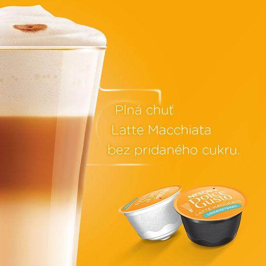 NESCAFÉ Dolce Gusto® kávové kapsule Latte Macchiato Unsweetened 3balenie
