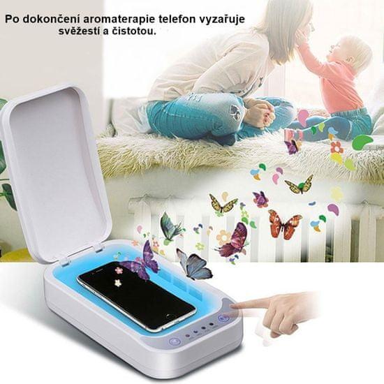 PATONA UV sterilizátor pro mobily, respirátory a drobné předměty PT9897