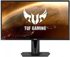 Asus TUF Gaming VG27WQ ukrivljen gaming monitor, WQHD, VA, HDR 400, 165 Hz, Freesync