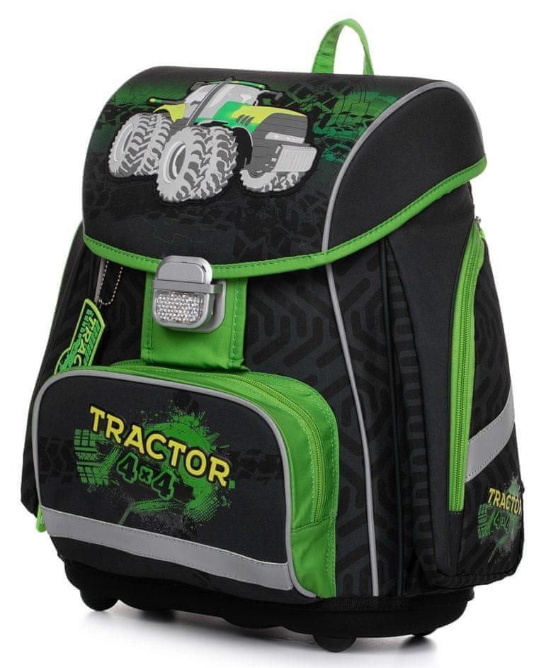 Karton P+P Anatomický batoh PREMIUM Traktor