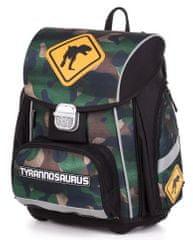 Karton P+P Premium T-rex anatomska šolska torba