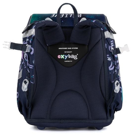 Karton P+P Premium Unicorn 1 anatomska šolska torba