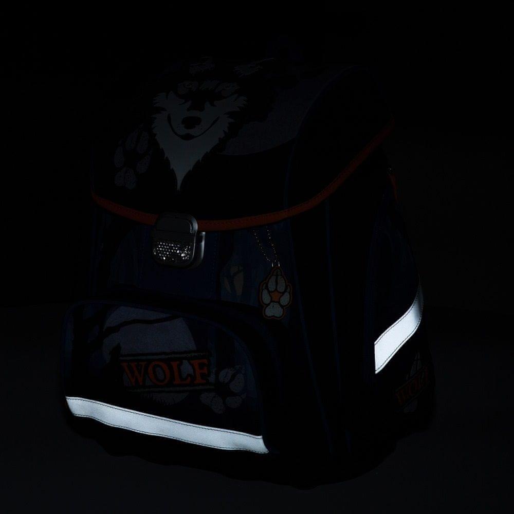 Karton P+P Anatomický batoh PREMIUM Vlk