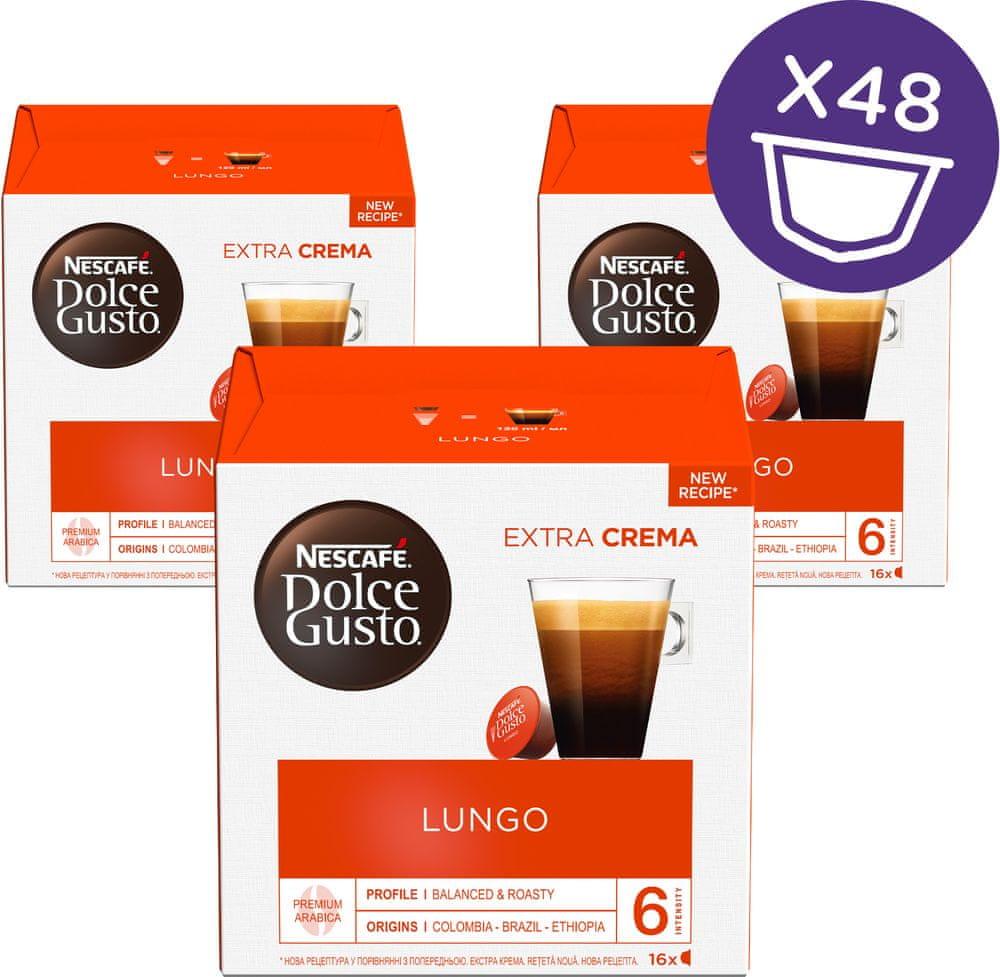 NESCAFÉ Dolce Gusto® kávové kapsle Caffe Lungo 3balení