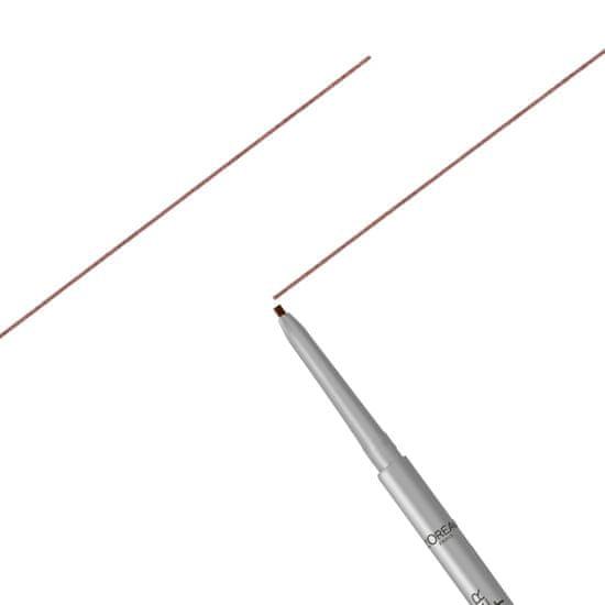 Loreal Paris Brow Artist Skinny Definer svinčnik za obrvi, 105 Brunette
