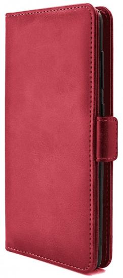 EPICO Elite Flip Case ovitek za Huawei P40 Lite/Nova 6SE, preklopni, rdeč - Odprta embalaža