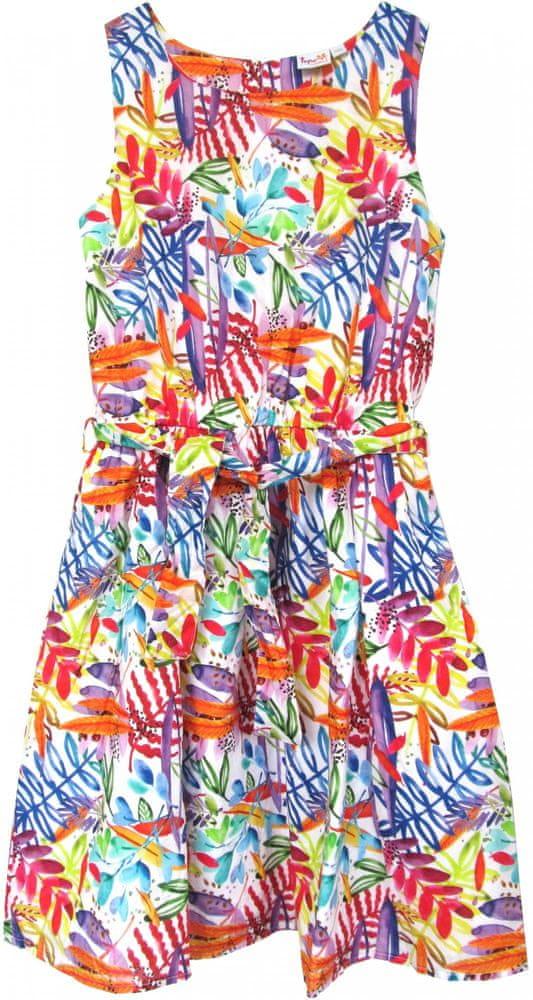 Topo dívčí šaty 164, vícebarevná