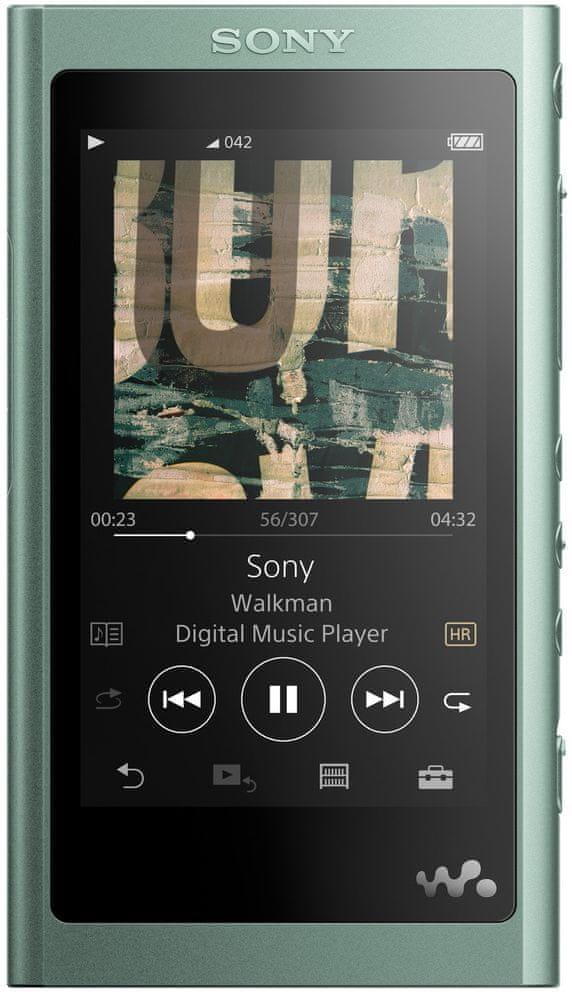 Sony NW-A55, zelená