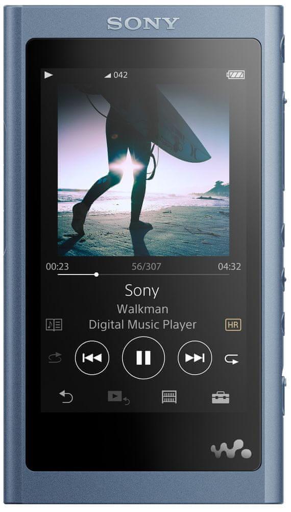 Sony NW-A55, modrá