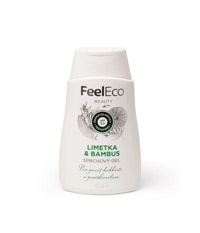 FeelEco Sprchový gel - Limetka a Bambus 300 ml