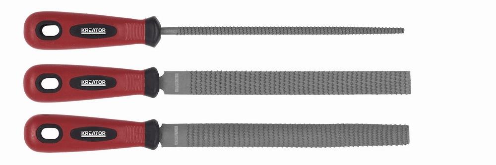 Kreator KRT453000 - Rašple sada 3ks 200mm