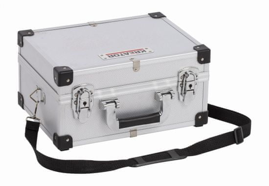 Kreator KRT640106S - Hliníkový kufr 320x230x160mm stříbrný