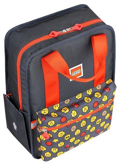 LEGO šolski nahrbtnik FUN, rdeč