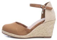 XTI dámské sandály 49730 36 hnědá