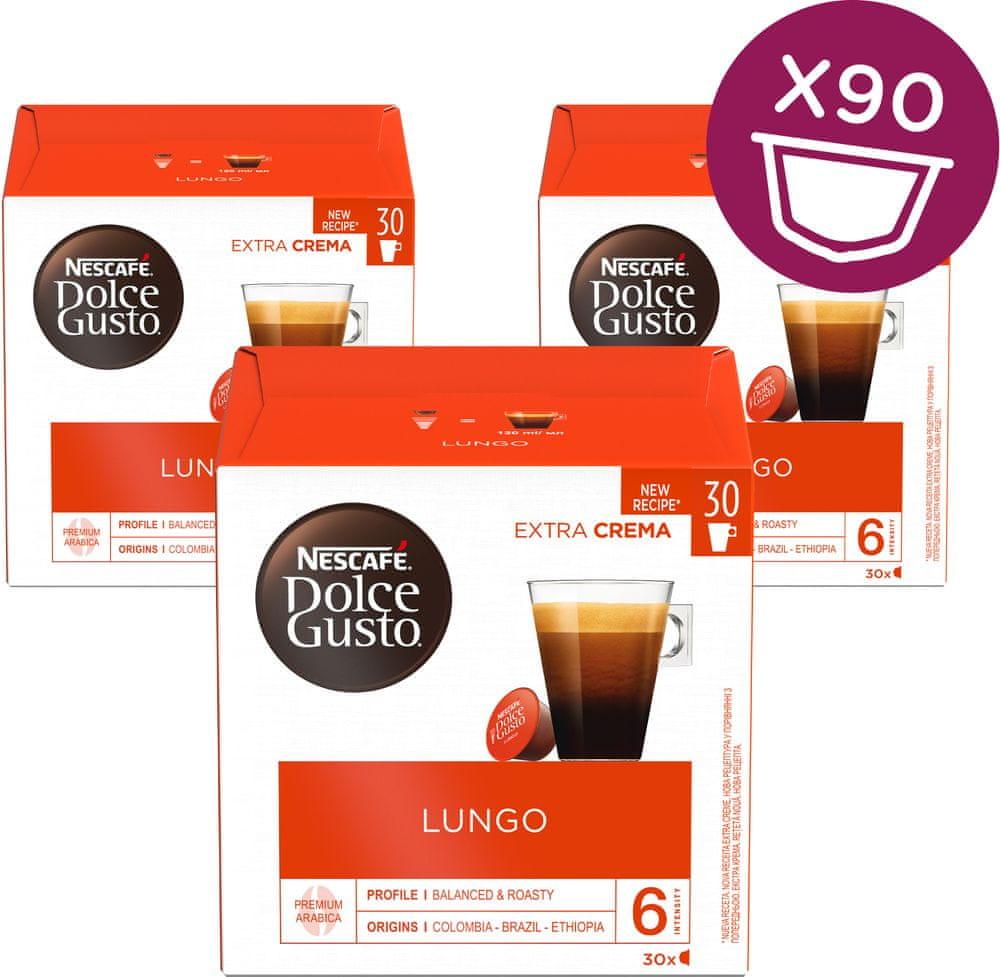 NESCAFÉ Dolce Gusto® kávové kapsle Caffe Lungo XXL 3balení
